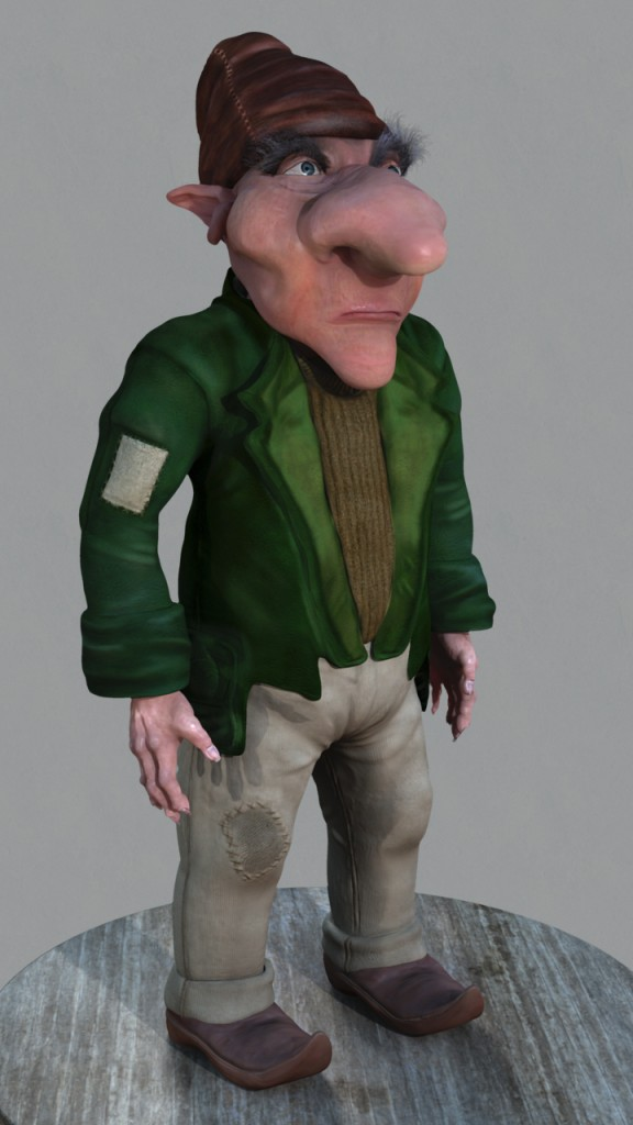 Gnolan the Gnome | 10 Week Project | Spring 2012