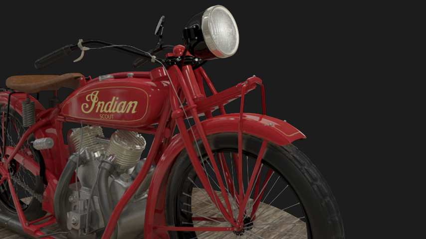 1920 Indian Motorcycle | ~3week project (new, and old) | Fall 2012
