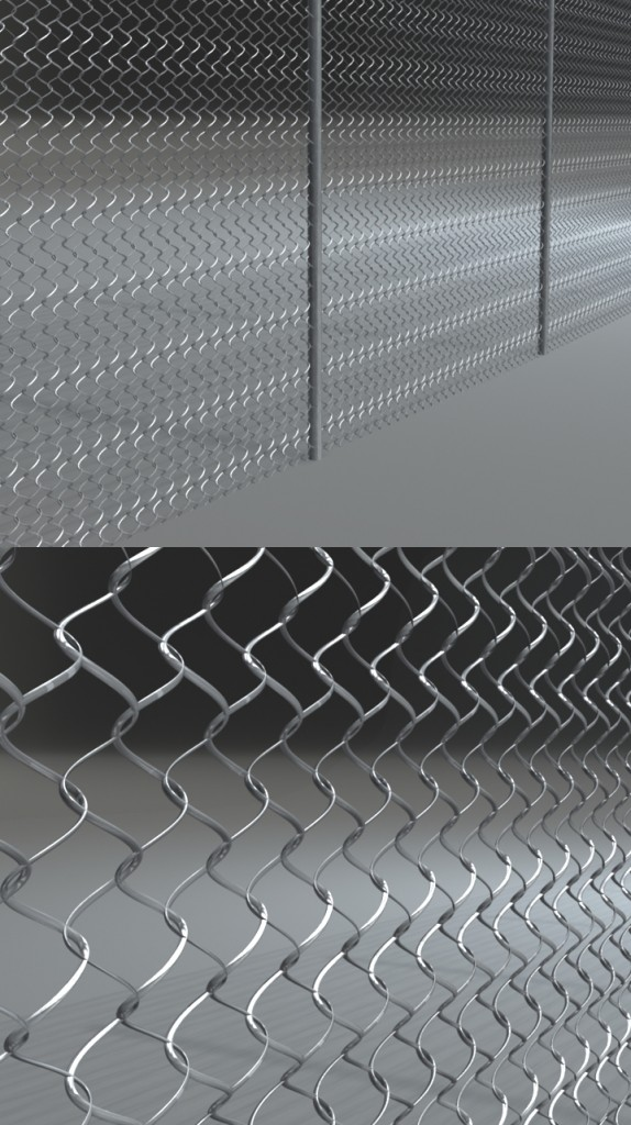 Procedural Mel Fence | ~2week Project | Repeatable Fence Scripted in Mel | Spring 2012